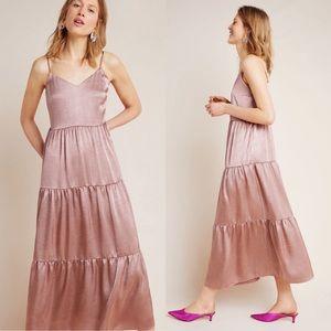 Ro & De Elodie tiered maxi dress NWT